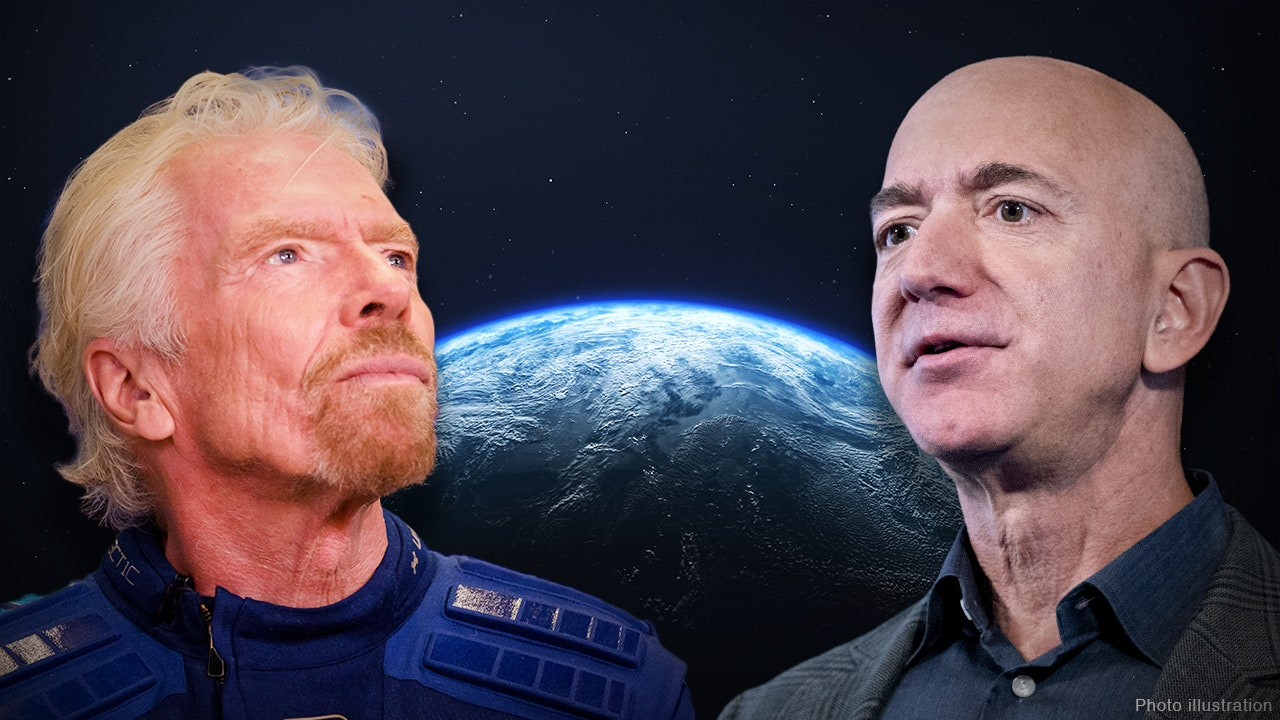 Bezos's and Branson's race to space perceived as a 'publicity stunt'